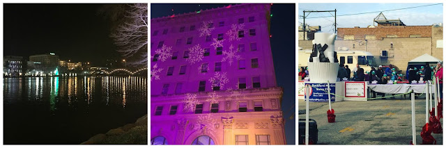 Scenes from Stroll on State as Rockford, IL lights up for the holidays!