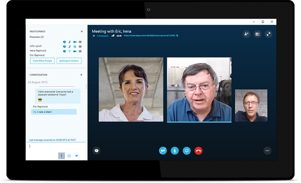 Microsoft launches Skype Meetings, a free group video chat tool for small businesses