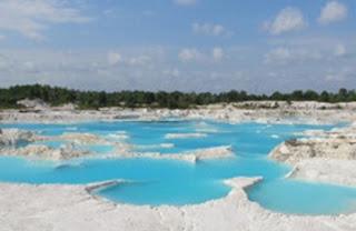 Danau Kaolin Tempat Wisata di Belitung