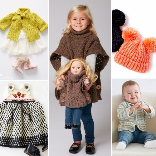 Kids Crochet Patterns that Look Knit
