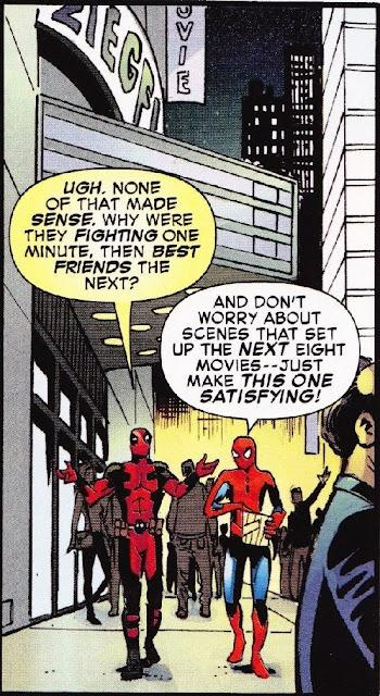 Дедпул і Людина-павук