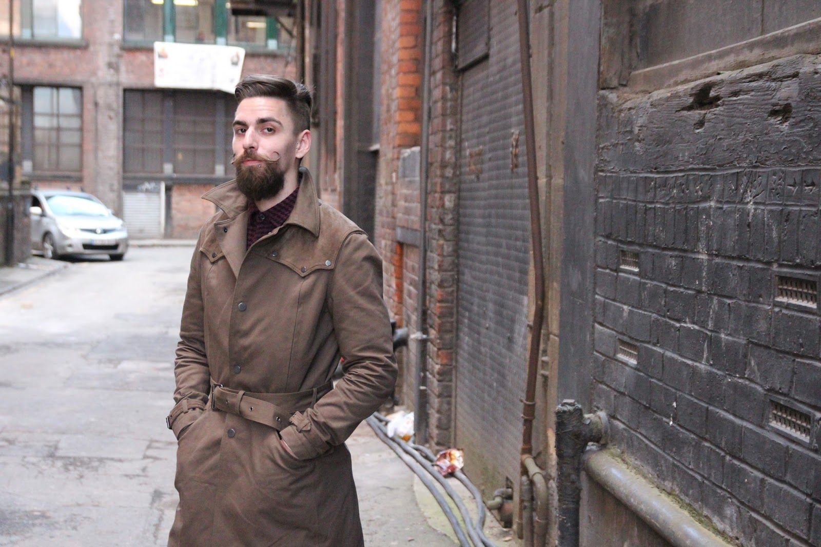 The Kooples Men's Trench Coat