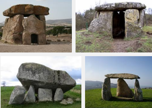 gambaran dolmen tempat penguburan dan pemujaan roh nenek moyang