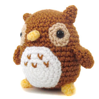 Free crochet pattern: Small amigurumi owls | 320x320