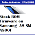Stock ROM Firmware on Samsung  A8 SM-A800F