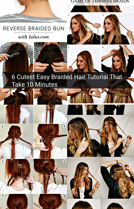6 cutest easy braided hair tutorial in 10 minutes cov