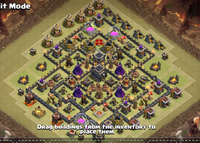 level 9 base design for war