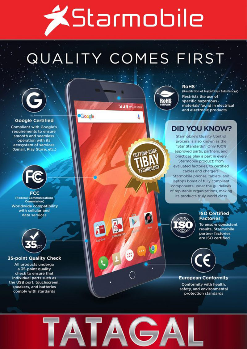 Starmobile Quality Comes First