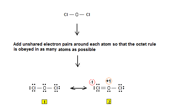 Is there any resonance structure for Cl2O?   Yahoo Answers