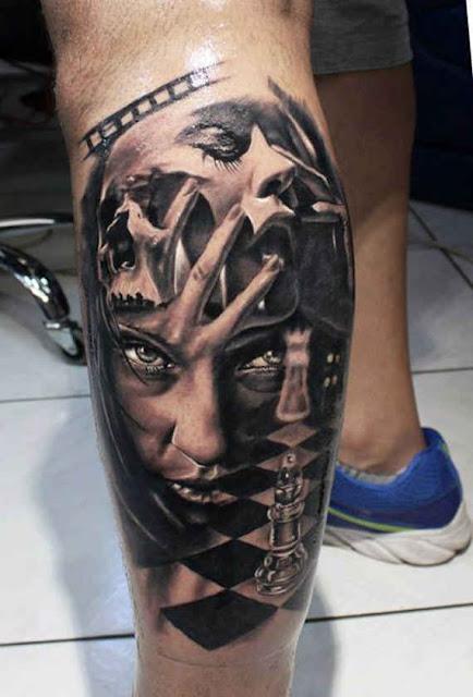 Beautiful Leg Tattoos For Women & Men