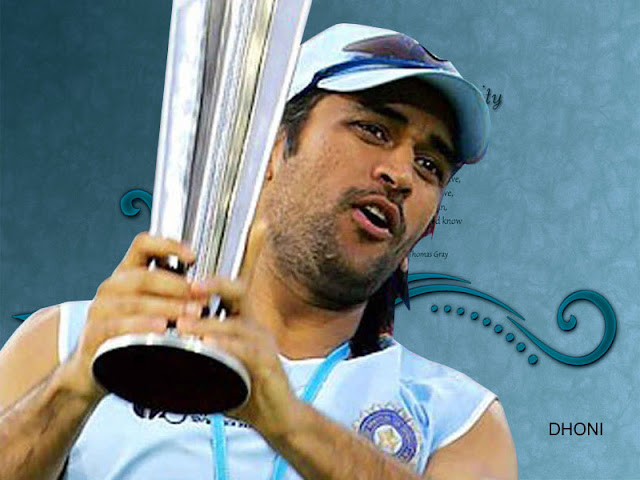 Mahendra Singh Dhoni HD Wall Download