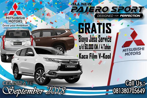 program promo pembelian mobil mitsubishi pajero sport 2018