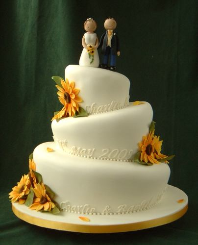 Sunflower Wedding Cake Ideas: Anointed Creations Wedding And Event Planning: Sunflower