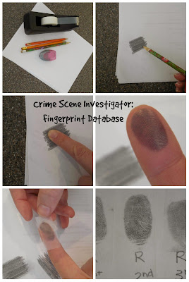 fingerprinting activity science kids