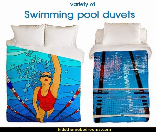 Decorating theme bedrooms  Maries Manor swimming pool theme bedroom ideas  Pool Bedroom