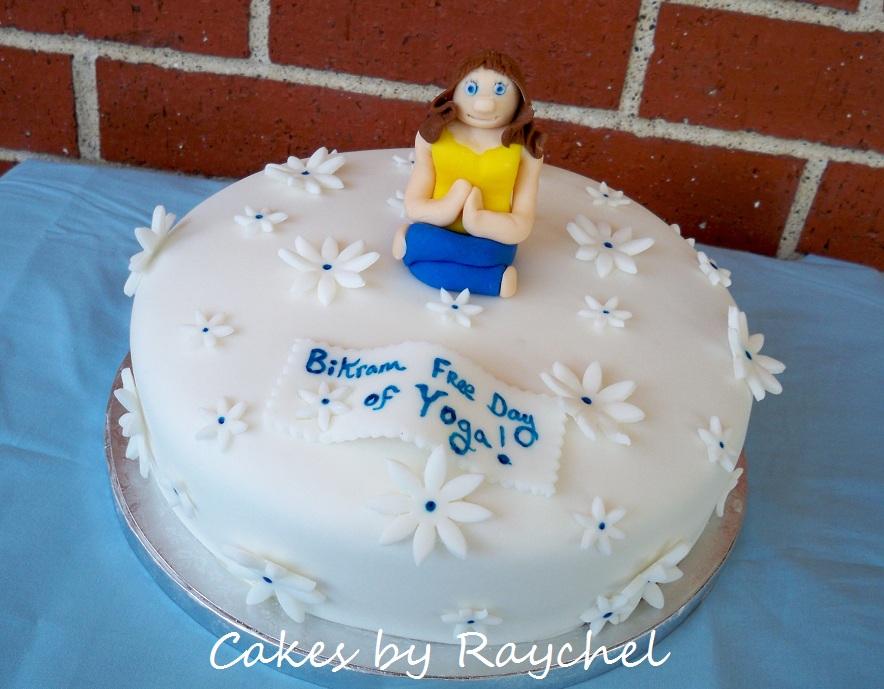 My Creative Way Tranquil Flower Yoga Cake Bikram Yoga Cake