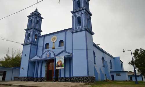 Iglesia de la Inmaculada Concepción en Estanzuela