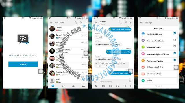 download BBM2 Mod Thema iOS Light V8 Terbaru 2.13.0.26 Seperti iPhone