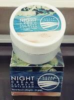 Produk Krim Malam Ocean Fresh Original