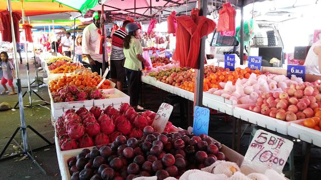 Pasar Karat, Rope Walk, Lorong Kulit, Pulau Pinang, flea market
