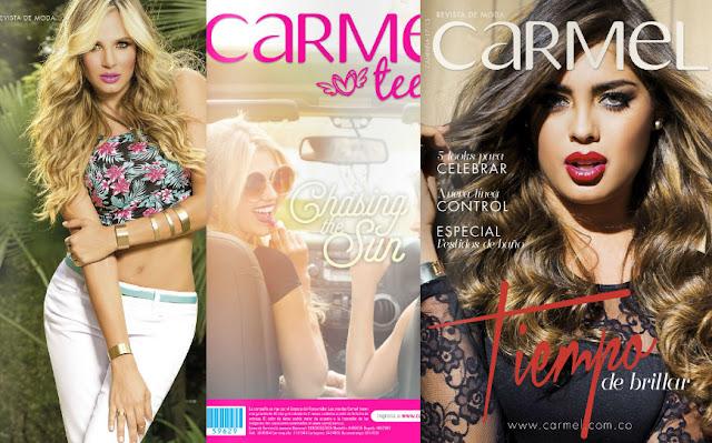 Catalogos Carmel moda 2016 todas las campañas : colombia