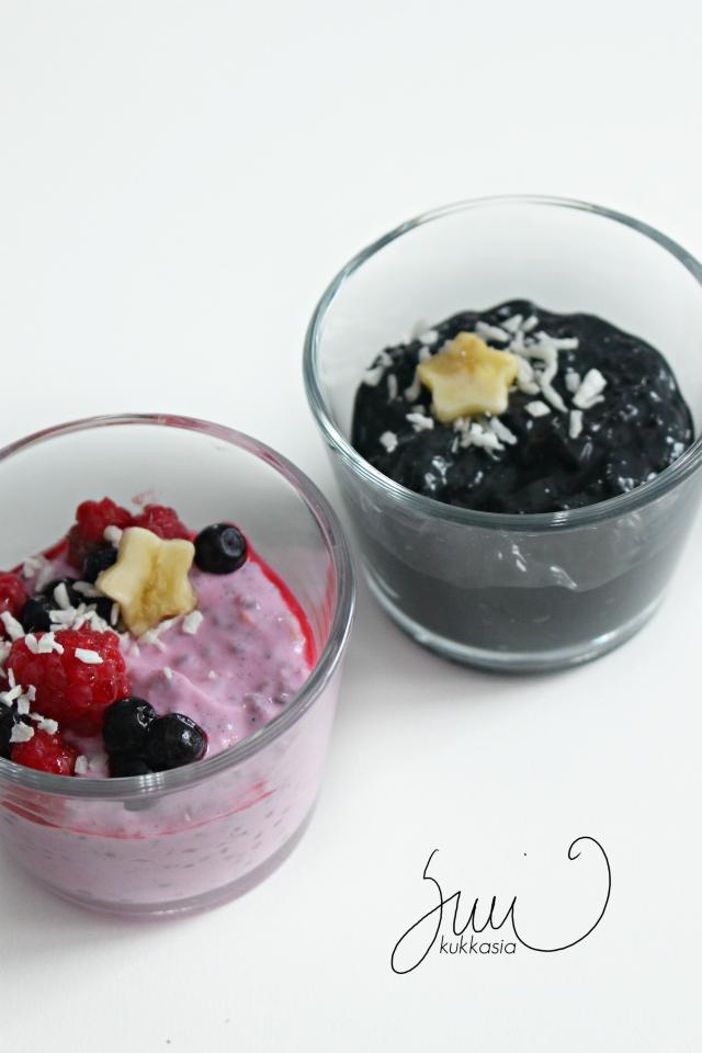 Spelttipuuro & pitayapowder / aktiivihiili