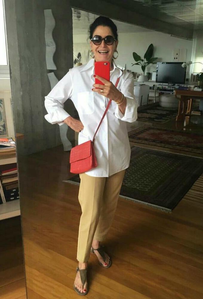 Moda para mulheres com 50 anos ou mais - Gloria Kalil