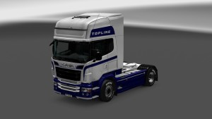 White Fury Skin for Scania RJL