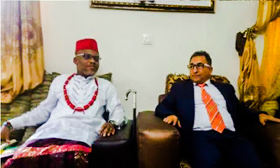 Turkish Diplomat has Warned Nigeria Government over Nnamdi Kanu