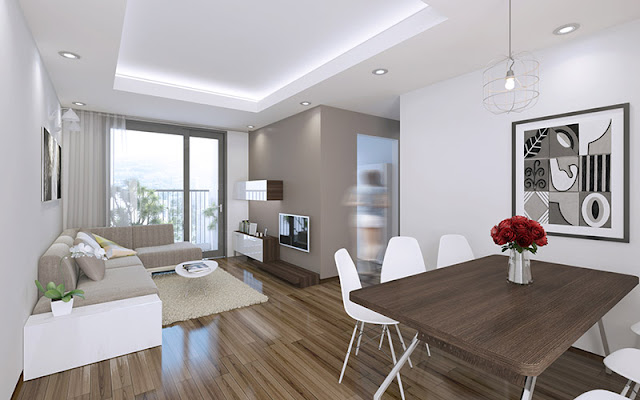 Phối cảnh căn hộ chung cư 283 Khương Trung