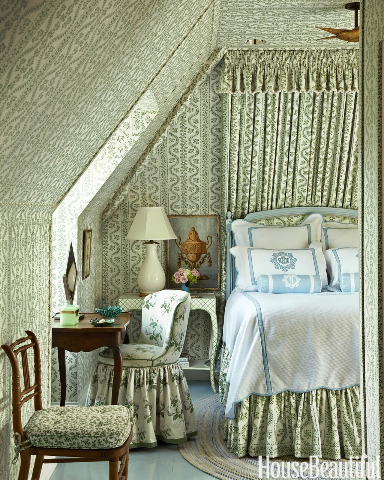 Eye For Design: Cozy Attic Bedrooms