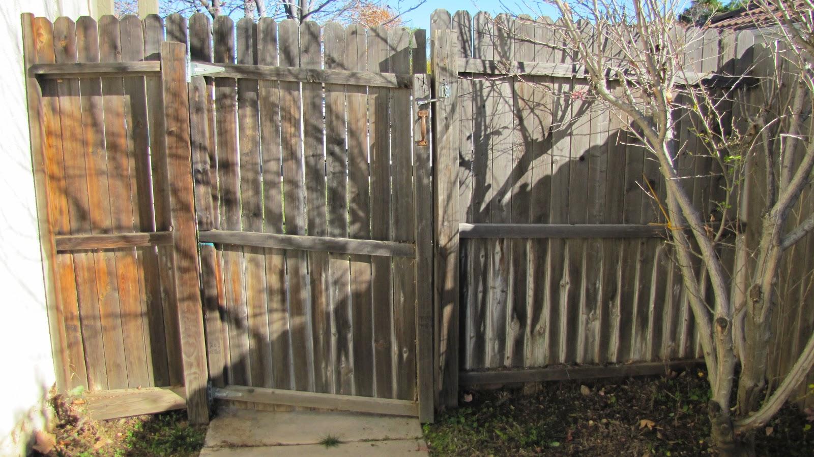 Adventures In Diy Side Fence