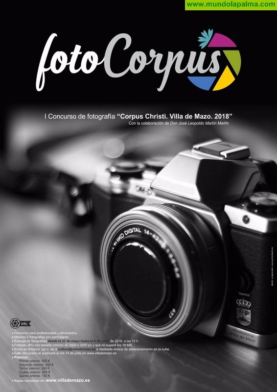 El Ayuntamiento de Villa de Mazo organiza el primer concurso de fotografía 'Foto Corpus'