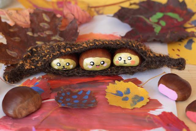 châtaigne kawaii diy crochet