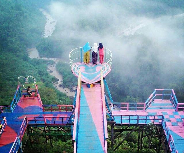 Wisata Batang | Wisata Alam Jembatan Buntu Sengon Subah Batang