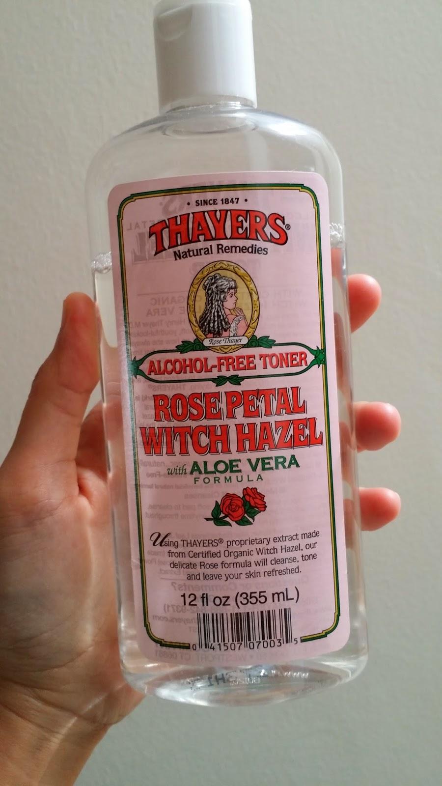 OhShoppedia : Thayers Rose Petal Alcohol Free Witch Hazel Toner