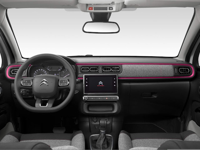 Citroen lança série especial C3 ELLE na França - fotos