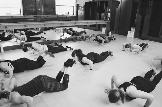Alberta Blog Squad Barre Body Class