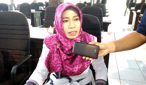 Ketua Komisi A DPRD Lumajang Hj. Nur Hidayati