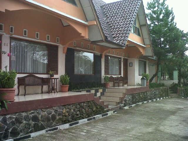 villa di ciater untuk instalasi perusahaan dan rombongan