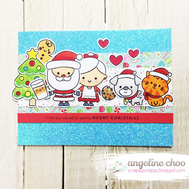 ScrappyScrappy: Christmas Squad with Simon Says Stamp #scrappyscrappy #simonssaysstamp #christmassquad #milkandcookies #doodlebug #tonicstudios #christmas #christmascard #santaclaus #gingerbreadman #card #cardmaking #papercraft #stamp #stamping #copicmarkers #winter2017clh