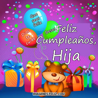 Feliz Cumpleaños Hija