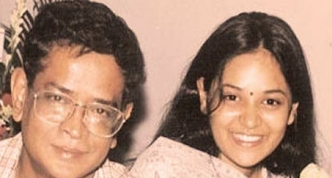 HUMAYUN AHMED WITH HER DAUGHTER SHILA AHMED