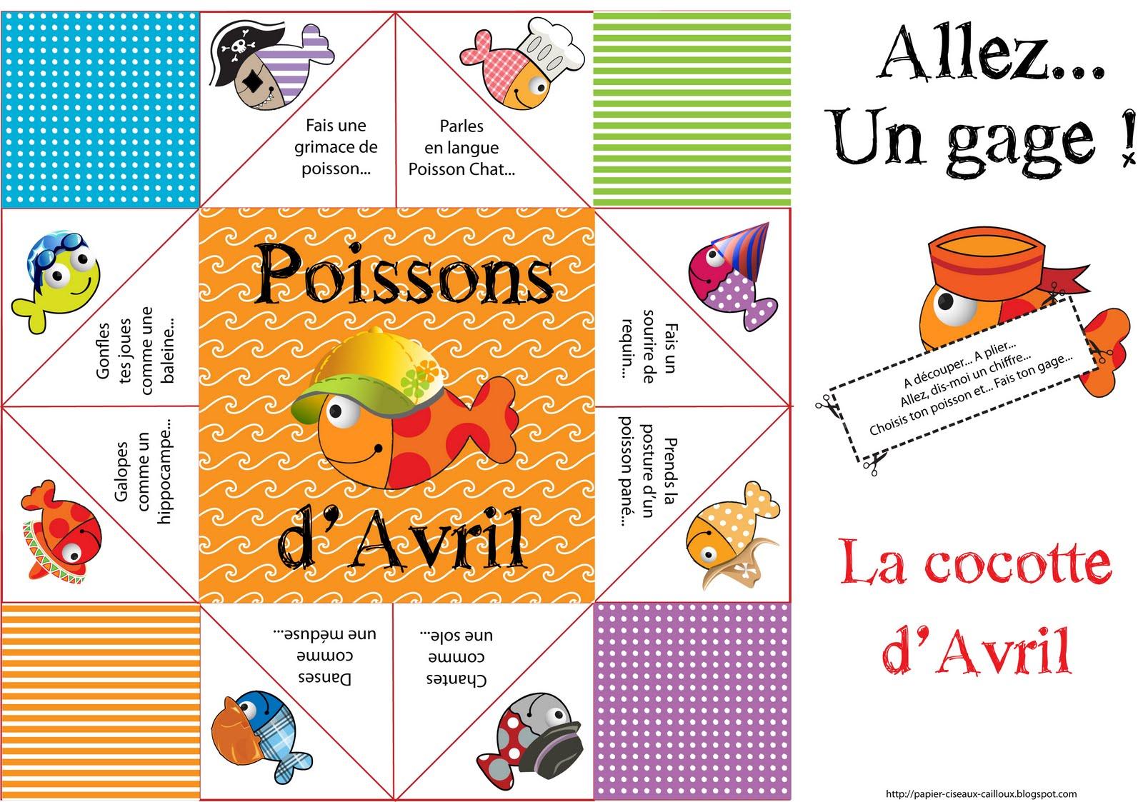 Fabriquer Une Tour A Poisson papier, ciseaux, cailloux: des petits poissons partout