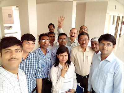 A picture of Trainees from Group III of Batch 3 conducting access audit