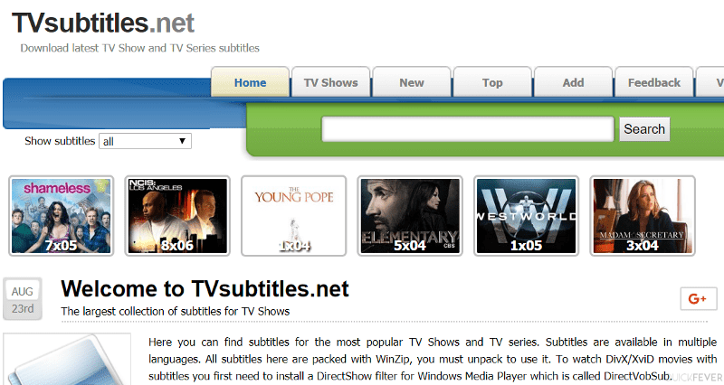 The 5 Best Subtitle Sites for TV Series & Movies