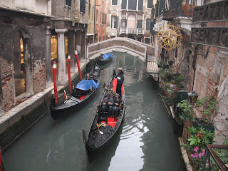 Venice's gondolas were painted black to mourn the victims of the plague and have remained black ever since