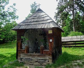 Ужгород. Музей народной архитектуры и быта. Часовня
