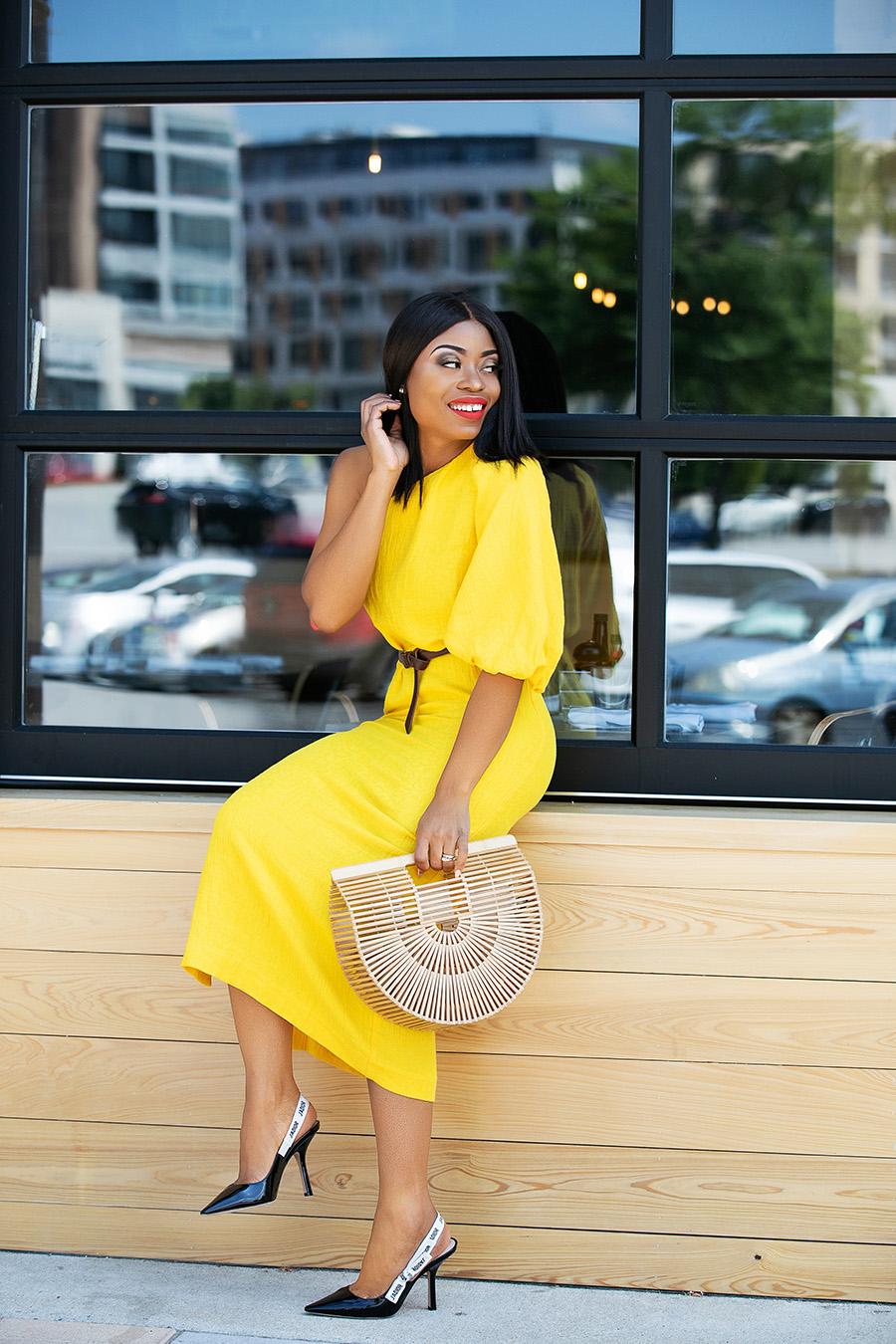 mara hoffman emilie off shoulder dress, www.jadore-fashion.com