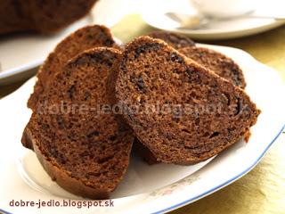 Čokoládovo-kakaová bábovka - recepty